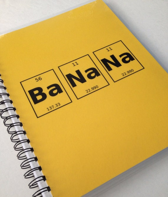 BaNaNa Elementally Awesome Notebook
