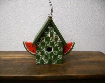Watermelon Bird House