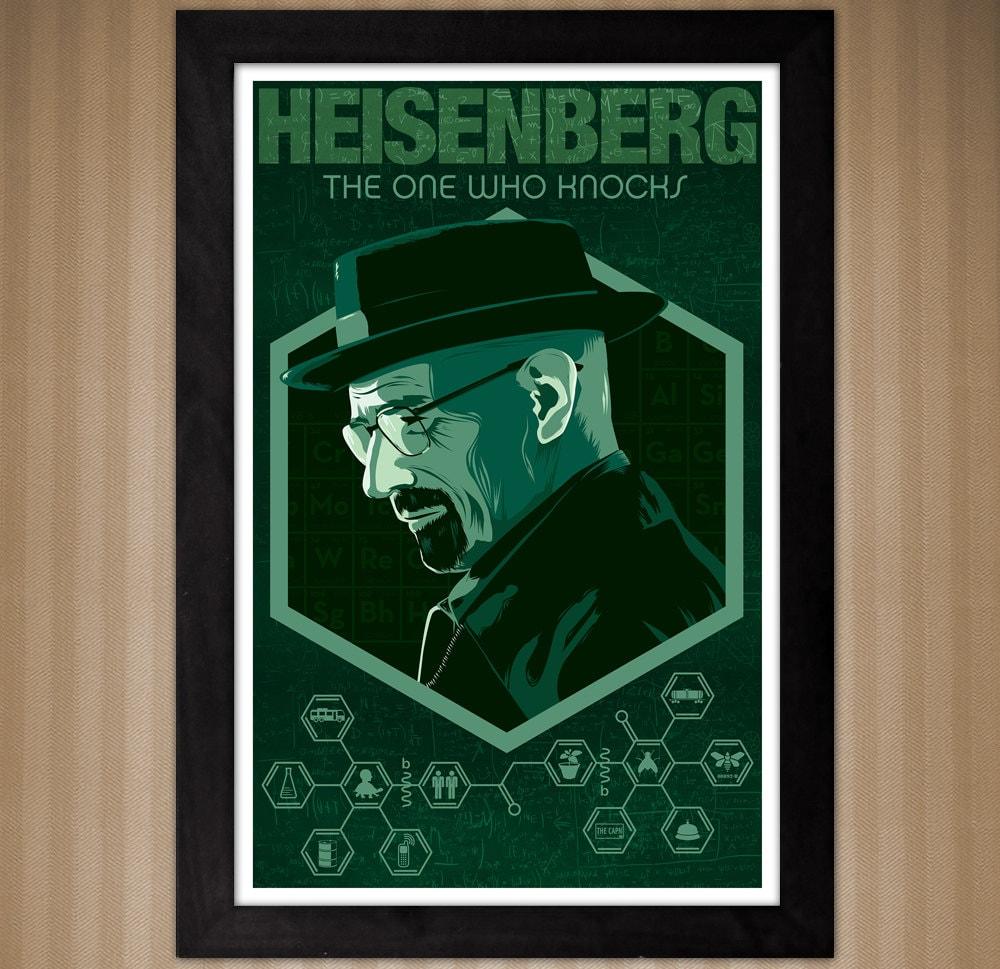 Walter white green apron - 11x17 Heisenberg Walter White Poster Breaking Bad