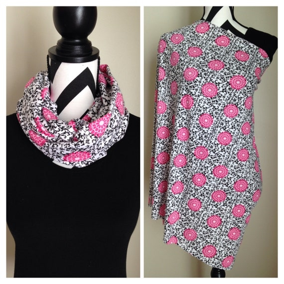 This infinity nursing scarf is a diaper bag essential and only $20! I love it!