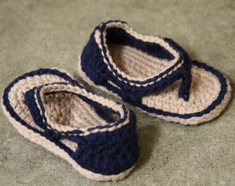 Baby crocheted Sandals