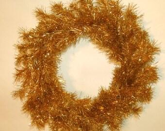 "Gold Christmas Wreath 33"" (83.8cm) Diameter"
