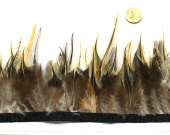 1 x Metre of  Natural Feather Trim by the metre #367
