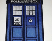 TARDIS Sew on Patch