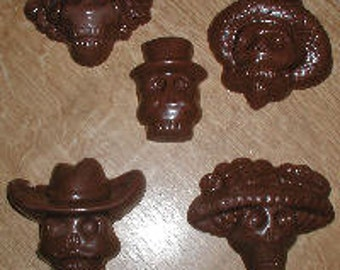 Day Of The Dead Assortment Chocolate Mold