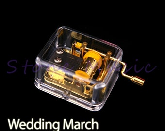 Boutique Musical Box/Music Box Melody Wedding March Educational Toy