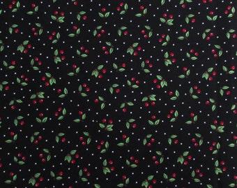 Per Yard, Cherry Toss Fabric From VIP