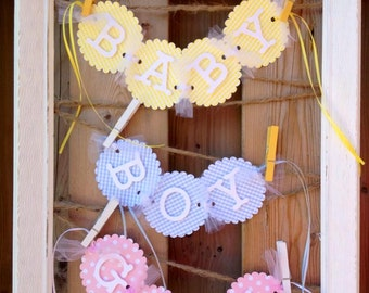 Newborn and Maternity Photo Shoot Prop- Belly Banners