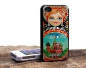 Matrjoshka. Russian doll. Iphone 4-4s case.