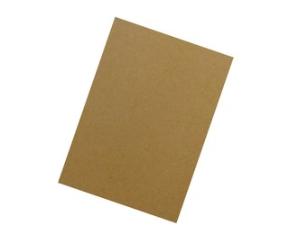 "Kraft Brown Bag 3""x5"" Cardstock 50 pack"