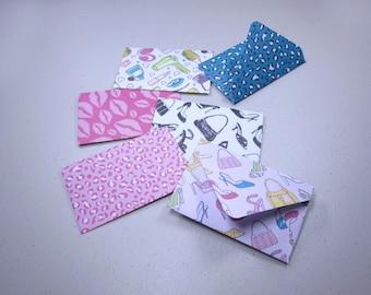 Handmade Giftcard Envelopes—Fashionista