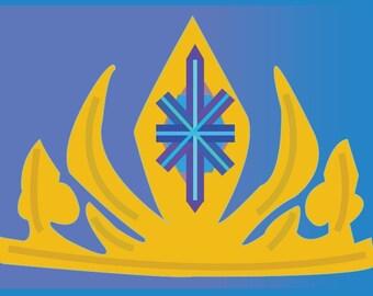 Frozen Party Game Elsa's Crown