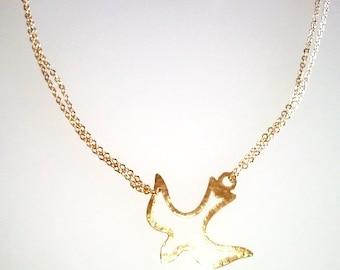 Bird of Peace Necklace
