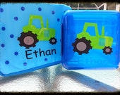 Set of lunch bag & lunch box personalize custom GREAT for school / daycare / party favor - Customforless