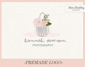 Custom Logo Design Premade Logo and Watermark - FB079