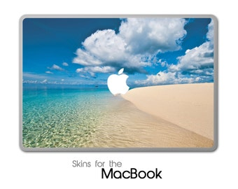 "Beach Scene 221 Skin for the MacBook 11"", 13"" or 15"""