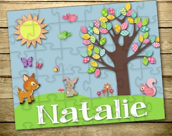 Personalized Children's Puzzle - Personalized Puzzle - Create Your Own