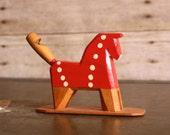 Dala Horse Wood Whistle
