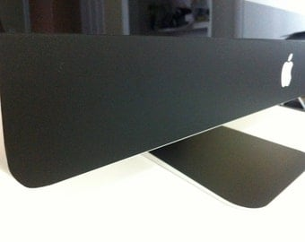 Apple iMac Flat Black Matte 21.5 or 27 inch Protective Skin
