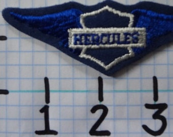 """Vintage """"Hercules"""" Motorcycle Patch (002)"""