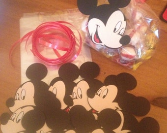 Mickey Mouse Treat Bags with Tags