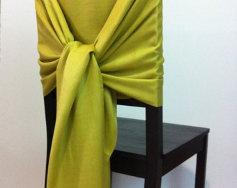 GOLDENROD PASHMINA , Pashmina Scarf, Pashmina Shawl, Wedding Shawl, Pashmina Wrap, Bridesmaid Shawls, Wedding Favors, Goldenrod Chair Covers