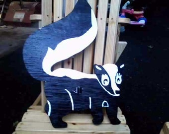 Skunk made for the yard