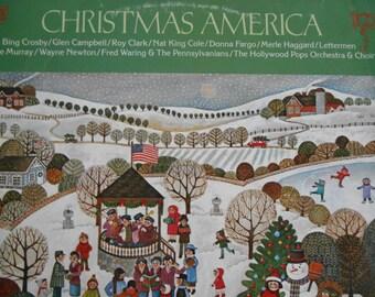 Christmas America- Album Two-vinyl record