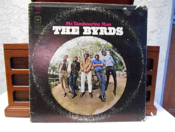 The byrds mr tambourine man single