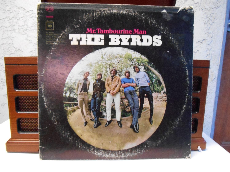 The Byrds Mr Tambourine Man Single