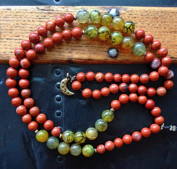 mala meditation prayer mantra by cindersbeads on etsy