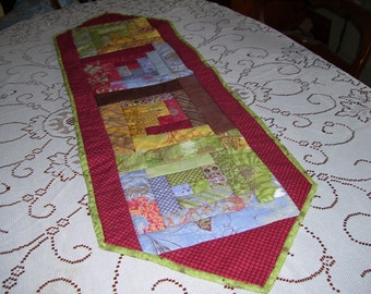 Urban couture table runner