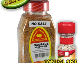 SAUSAGE seasoning No Salt 11 oz