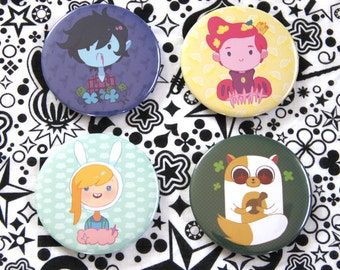 Genderbend Adventure Time Button Fionna Cake Marshall Lee Prince Gumball
