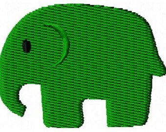 Elephant Mini Embroidery Design