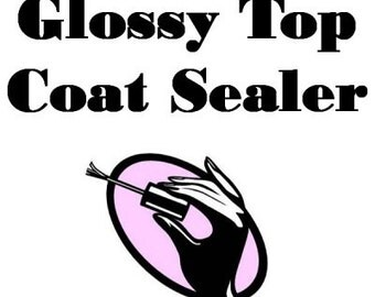 Clear Nail Polish Super Glossy Top Coat 1 Gallon