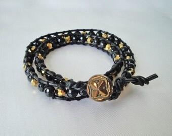 Bracelet with Onyx
