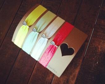 Tennis Racket Charm Hair Tie ---You Pick Color Hair Tie