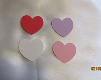 small heart die cuts