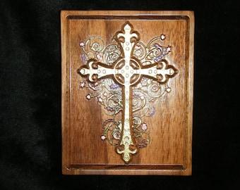 Carved Ornate Cross