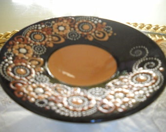 Brown Pottery Bowl