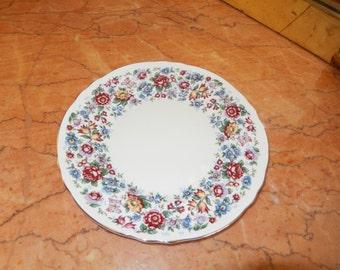 Staffordshire England Chintz Plate