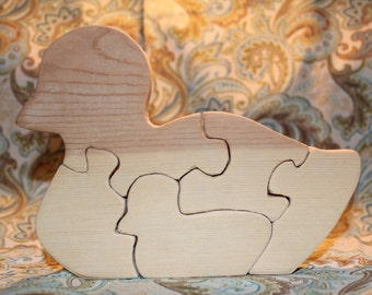 Mommy & Baby Ducky (5-piece) Puzzle