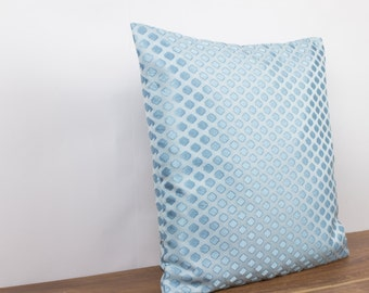 Light Blue Silk Throw Pillow : Popular items for light blue pillow on Etsy
