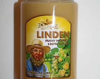 Amish Honey 1Lb Linden Raw