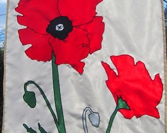 Poppy Flag - Full Size