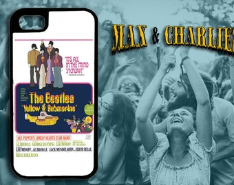 The Beatles Yellow Submarine Movie Poster  iPhone 6/5/5c/4 Case -Samsung Galaxy S3/S4/S5 Case-Phone Cover