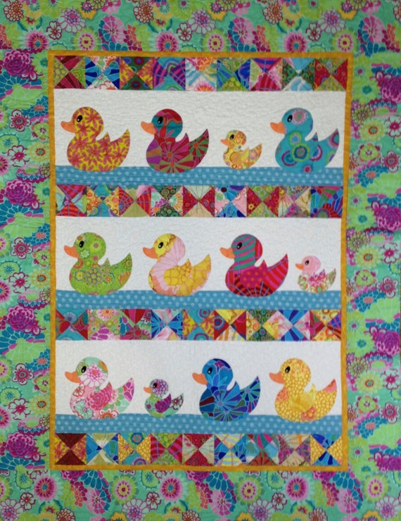 JUST DUCKY QUILT Pattern only
