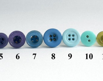 Two Pairs of Button Earrings