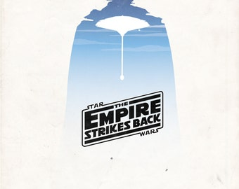 Star Wars: Empire Strikes Back Poster A3